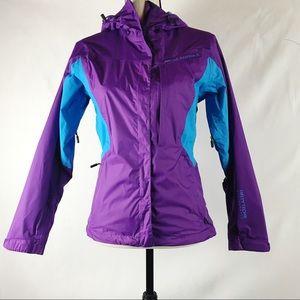 Helly Hansen Windbreaker Rain Jacket Hooded XS